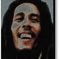 Bob Marley Quotes Mosaic INCREDIBLE