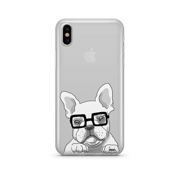 The Frenchie - Clear TPU Case Cover