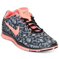 Nike Women's Shoes, Free TR Print 3 Cross Training Sneakers - Kids Finish Line Athletic Shoes - Macy's