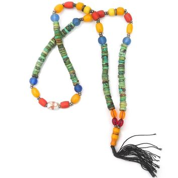 Colorful Prayer Beads