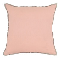 Rice Weave Pillow in Blush design by Villa Home