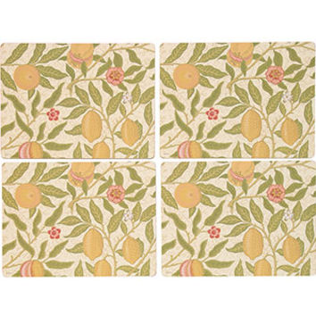 Pimpernal Set Of Four Fruit Patterned Placemats