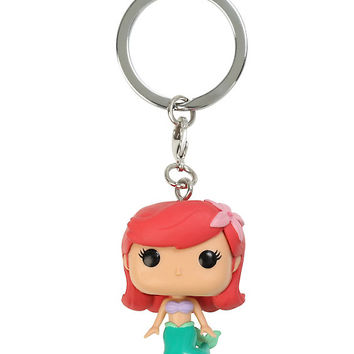 Funko Disney The Little Mermaid Pocket Pop! Ariel Key Chain