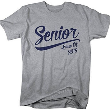 Shirts By Sarah Men's Senior Class 2015 T-Shirt Graduation