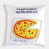piiqshop - Market Place - Cushion Pillow Cover Pizza Share My Life
