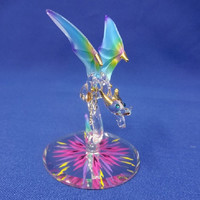 Glass Baron Rainbow Dragon 'Kaleidoscope' Figurine
