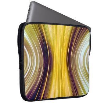Sea Shell Yellow Driving Dreams Laptop Sleeve