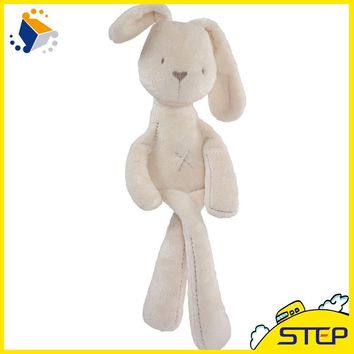 Hot Promotion MaMas&Papas Cute Bunny Rabbit Baby Soft Plush Toys Brinquedos 50CM White Baby Toys  ST035