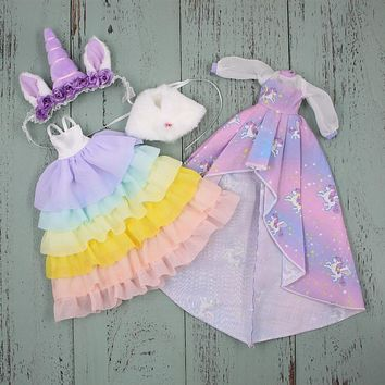 unicorn clothes for blyth doll icy
