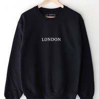 London Oversized Sweatshirt