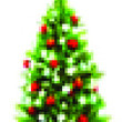 Poster X-Mas Tree | Pixelated Christmas Poster