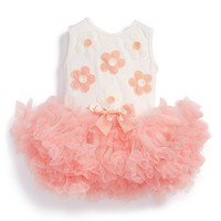 Infant Girl's Popatu 'Daisy' Tulle Dress