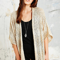 Summer Nights Crochet Cardigan in Beige - Urban Outfitters
