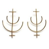 Crop Circle Earrings by Species by the Thousands