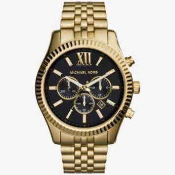 Lexington Gold-Tone Watch | Michael Kors