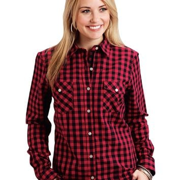 Stetson Buffalo Check Snap Front Shirt