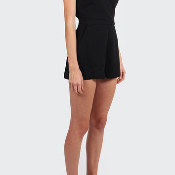 The Monument Playsuit - black