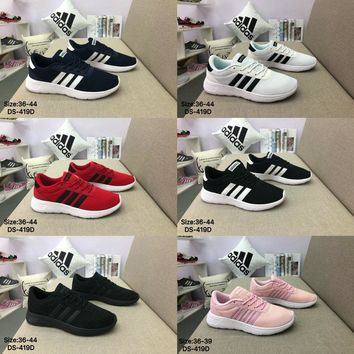 Adidas Original VL COURT 2.0 NEO Men Women Breathe Fashion Sports Running Shoes 6 Colors
