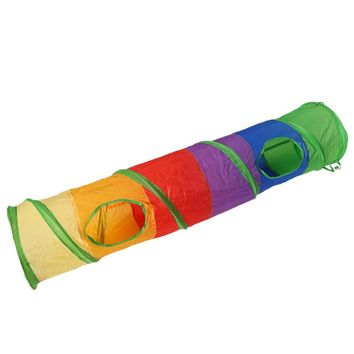 Pet Foldable Tunnel Cat Rabbit Play Tunnel Cat Tunnel With Ball Kitten Cat Toy