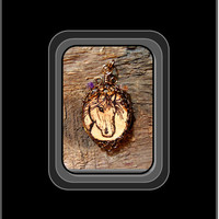 Horse lovers jewelry, wood jewlery, horse jewelry, horse lovers gift ideas, cat jewelry,  Veni Vidi Vici, nature jewelry, wood burned,zen