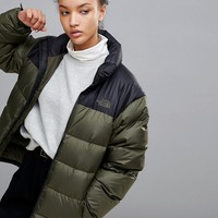 The North Face Nuptse 2 Jacket in Green at asos.com
