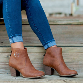 Ashlyn Brown Boots