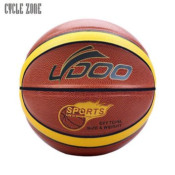 2017 New  Activing  Wear resistant non slip ultra fine leather basketball indoor and outdoor  J11X15