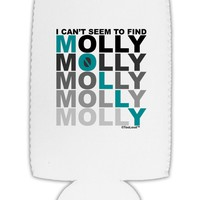 Find Molly Blue Collapsible Neoprene Tall Can Insulator