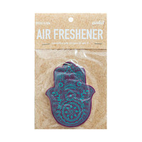 Teal Hamsa Blue & Green Air Freshener