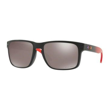 Oakley Glasses Holbrook Ruby Fade/Prizm Black Polarized