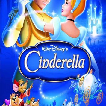 Cinderella 27x40 Movie Poster (1950)
