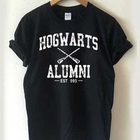 harry potter Hogwarts Alumni T-shirt Men, Women, Youth and Toddler