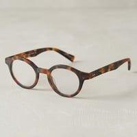Omotesando Reading Glasses by Eyebobs Brown Motif