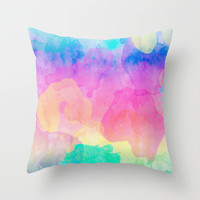 Summer 07 Throw Pillow by Aloke Design