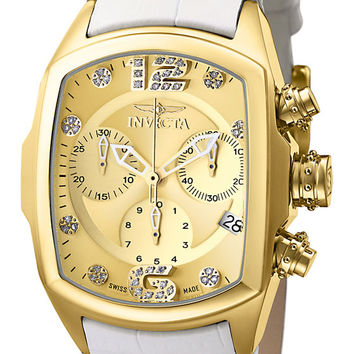 Invicta 6816 Women's Lupah Revolution Collection Chronograph Diamond Accented Watch