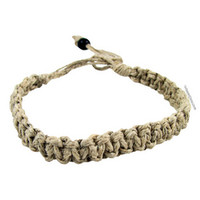 Not For Squares Hemp Bracelet on Sale for $3.99 at HippieShop.com