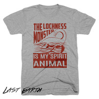 The Lochness Monster Is My Spirit Animal T Shirt | Funny Loch Ness Swimming T-Shirt