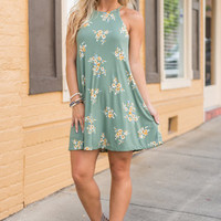 The Clarissa Dress, Sage