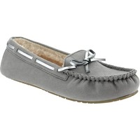 Women's Sueded-Sherpa Moccasins