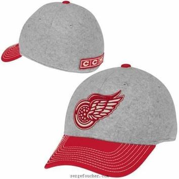 Detroit Red Wings Winter Classic Structured Spin Flex Hat
