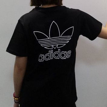 Adidas Simple Cotton Short sleeve T-shirt