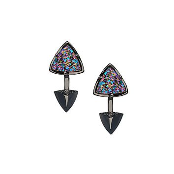 Brindley Ear Jackets in Multi-Color Drusy - Kendra Scott Jewelry