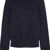Isabel Marant - Dustin cable-knit wool-blend sweater