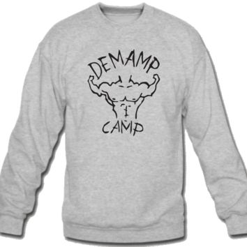 Demamp Camp Crew Neck Sweatshirt