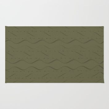 Hemlock Finch Stitched Rug by deluxephotos