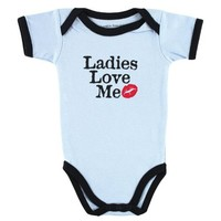 Luvable Friends Baby Sayings Bodysuit - Wild Boy
