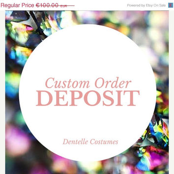ON SALE Custom leotard or dress deposit