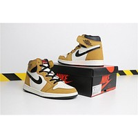 "Air Jordan 1 ""Rookie of the Year"" 555088-700 Size 40-46"
