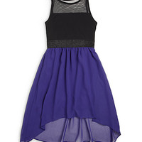 Girl's Carly Chiffon Dress
