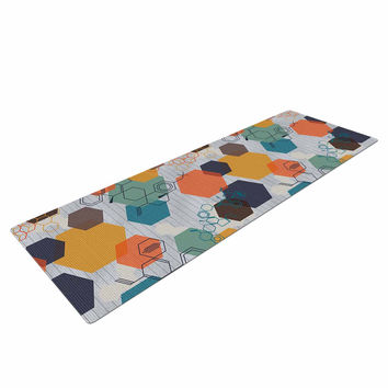 "Maike Thoma ""Biomolecular"" Science Multicolor Yoga Mat"